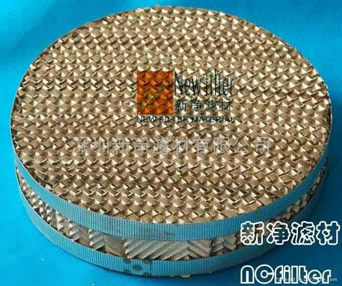 不鏽鋼壓延刺孔板波紋填料