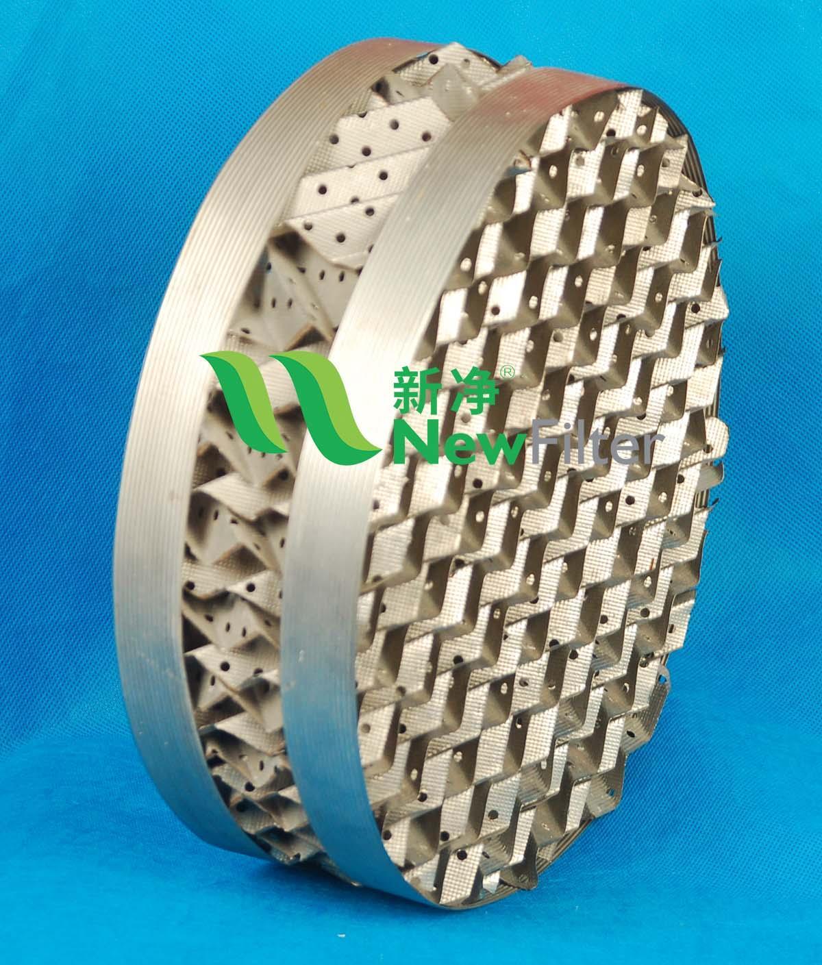 不鏽鋼壓延孔板波紋填料