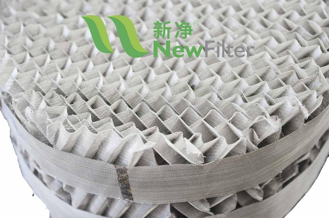 Structured gauze Packing 3