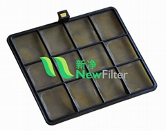 Automotive air conditioning pre filter