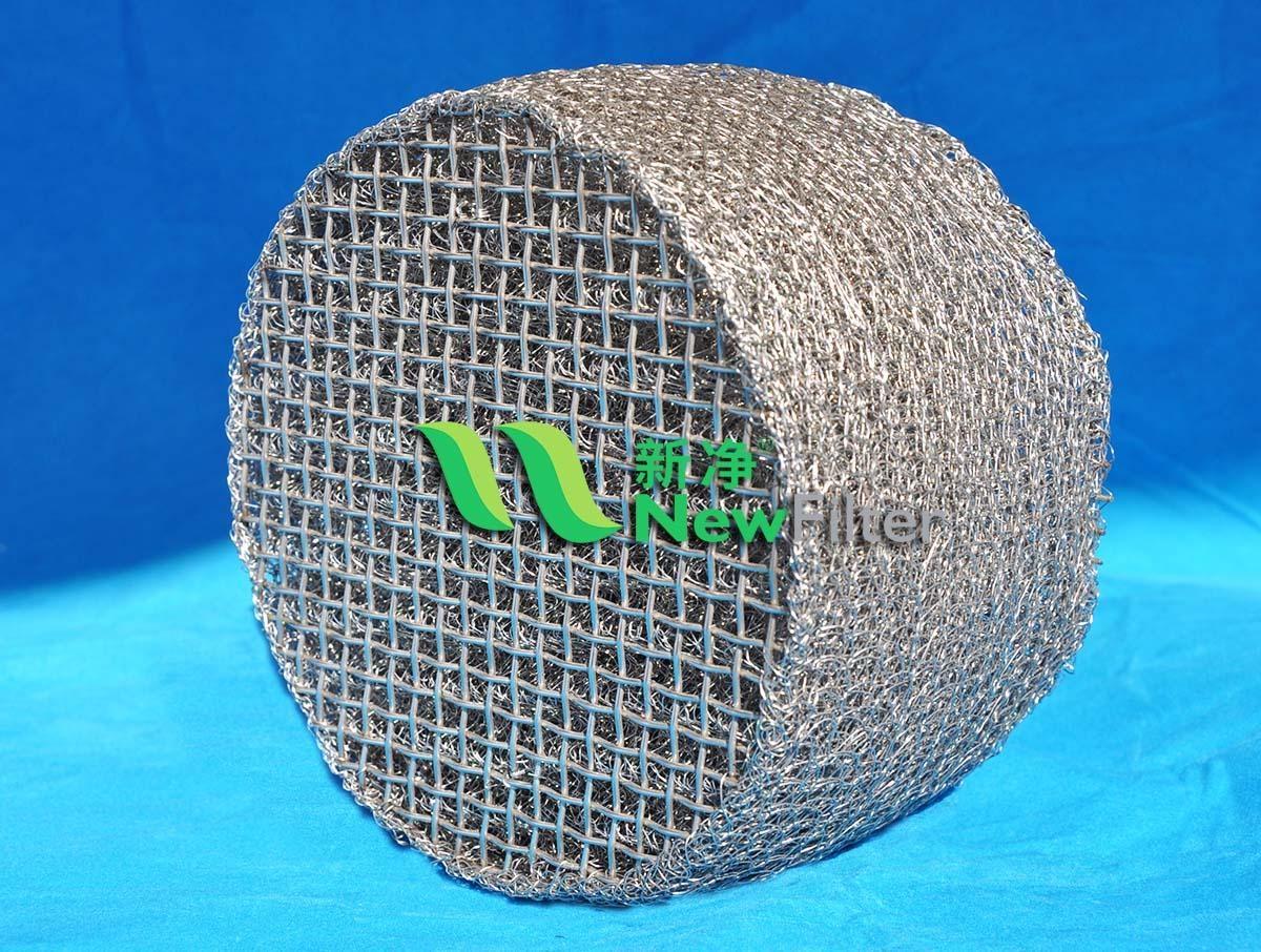 金属丝网除雾沫器