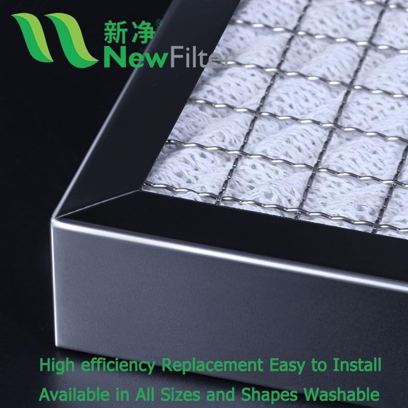棉不鏽鋼混織淨化過濾網 3