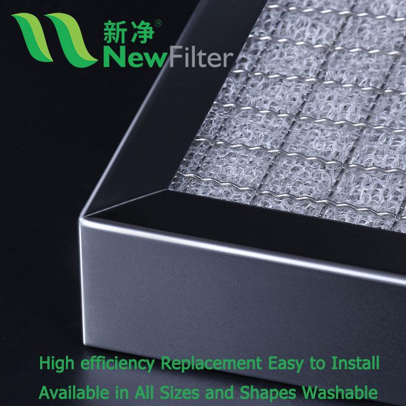 PP不鏽鋼混織空氣淨化過濾網 2