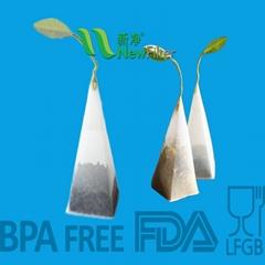 Pyramid Tea Bag Nylon PET Mesh