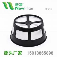 尼龙咖啡过滤网篮漏斗过滤器提篮食品级通用咖啡机配件NF015
