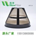 滴漏式咖啡過濾網提籃咖啡粉金色超密咖啡壺濾斗通用咖啡機配件NF018