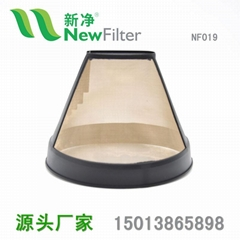 食品级咖啡过滤网提篮金网 全自动滴漏机配件NF019