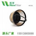 金色咖啡過濾網籃NF020