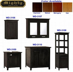 WD-3106~3110 5PCS BATHROOM FURNITURE SET