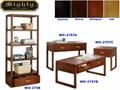 4PCS Wooden Walnut Living Room Cheap