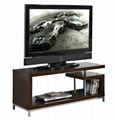 45 inch Wooden Grey Reclaimed LCD TV Table Stand