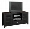 48 inch Dark Wood Entertainment Flat Screen TV Stand