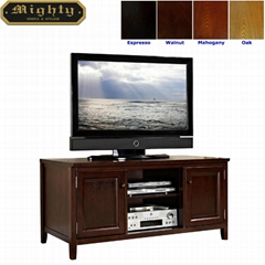 48 inch Wooden Walnut Cheap TV Cabinets for Flat Screens