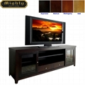 70 inch Espresso Two Door TV Television Stands For Flat Screens