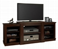 Wooden Espresso av entertainment 70 inch TV Stand
