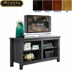 46 inch Wooden Reclaimed Grey Media Rustic TV Stand