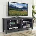 58 inch Wooden Reclaimed Grey Media Rustic TV Stands