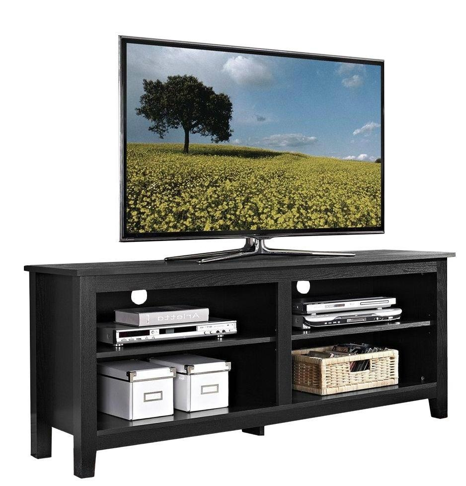 Wooden Tv Stands Product ~ Inch wooden reclaimed grey media rustic tv stands wd