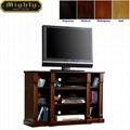 55 inch Living Room Walnut Retro TV Stands With Storage