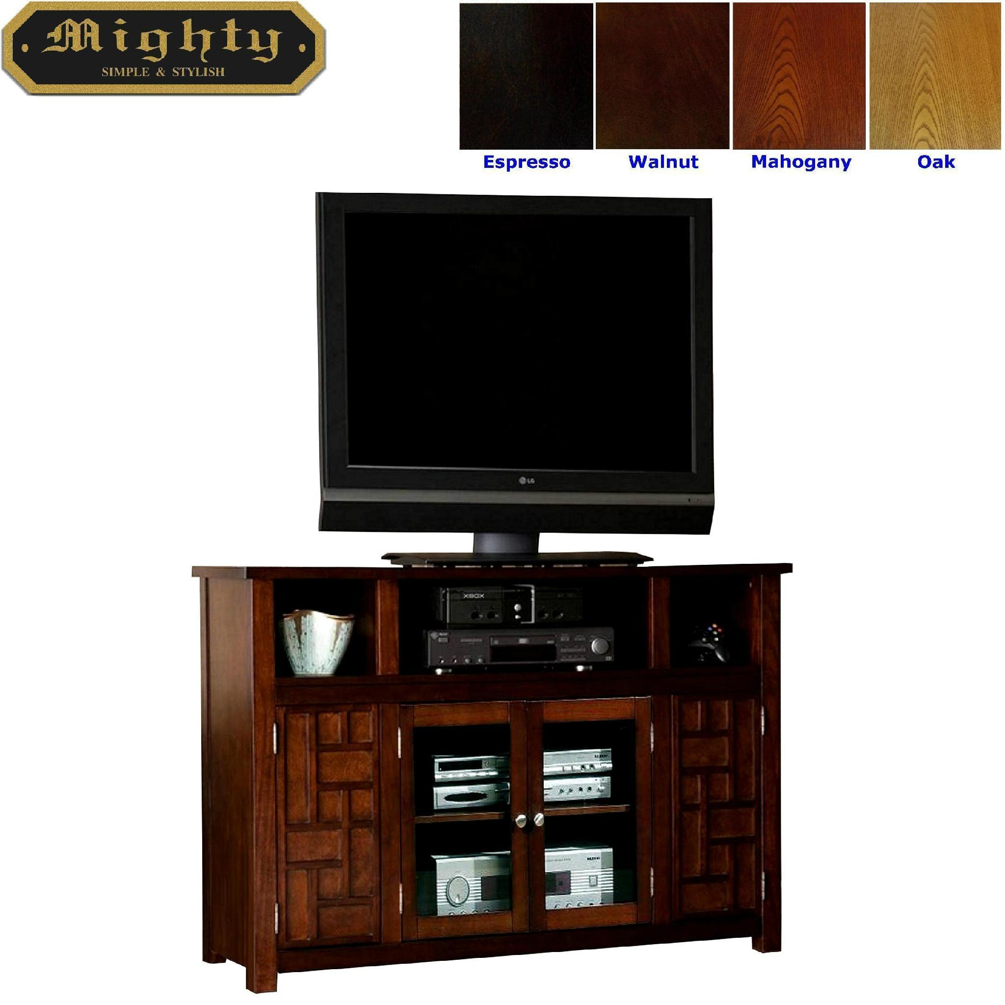 48 Inch Walnut Funky Doors Retro Tv Cabinet Wood Furniture Wd 3878