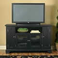 "60"" Wooden 4 Doors Entertainment White TV Console Stand"