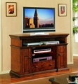 60 inch Reclaimed Doors Vintage Tall TV Console Credenza