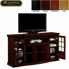 72 inch Espresso Media TV Console Furniture Media Credenza