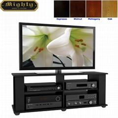 50 inch Wooden Simple Design Flat Panel Cheap TV Stand
