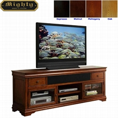 Wooden Vintage Cherry Wood Long TV Stand 70 inch