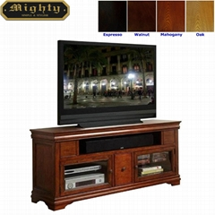 Wooden Vintage Cherry TV Stands 60 inch