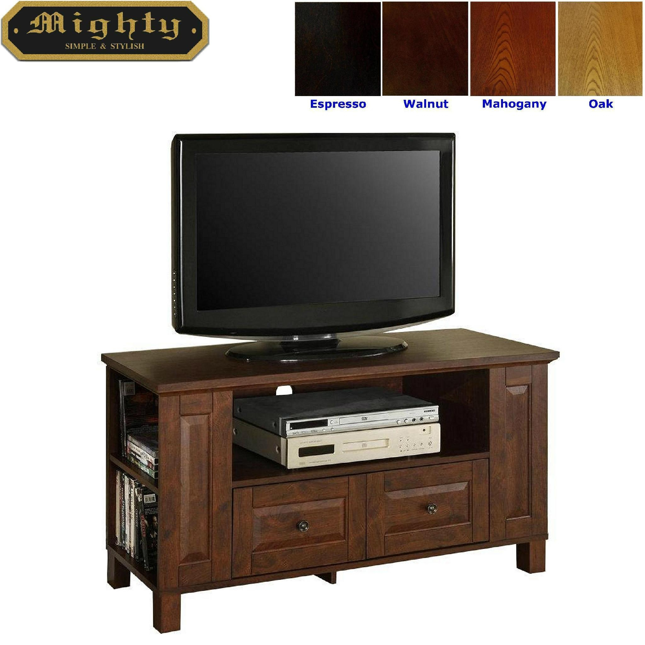 Small Tv Stand For Bedroom 44 Inch Small Mahogany Tv Storage Cabinet Bedroom Tv Stand Wd