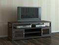 60 inch Wooden Espresso Two Doors Plasma TV Media Stands