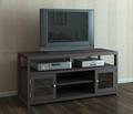 48 inch Wooden Espresso Two Doors Plasma TV Media Stand