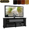 50 inch Wooden Black Universal Modern TV Entertainment Stand