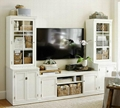 Wooden Home Theater Built In Entertainment Center TV Furniture