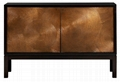48 inch 2 Door Dining Room Contemporary Espresso Dresser