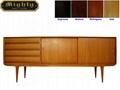 69 inch 4 Drawer Modern Cherry Oak Dresser