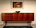 69 inch 4 Drawer Mahogany Long Wooden Dresser