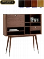 Walnut Dinning Room Danish Sideboard Cabinet