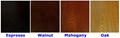Wooden Rustic Natural 3 Shelf Vintage Wood Bookcase