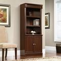 Wooden Walnut Classic 3 Shelf Library Bookcase