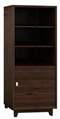 3 Shelf Wooden Storage Bookcase With Door