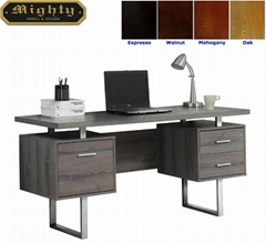 Wooden Reclaimed Grey Home Office Writing Desks