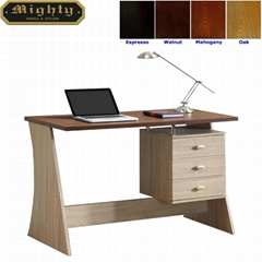 Two Tone Color Contemporary Home Office Computer Desks