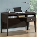 Two Tone Color Contemporary Home Office Writing Desk
