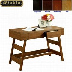 Wooden Walnut Modern Writing Oak Desk With Drawer