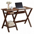 Wooden Walnut Home Office Desk Computer Table