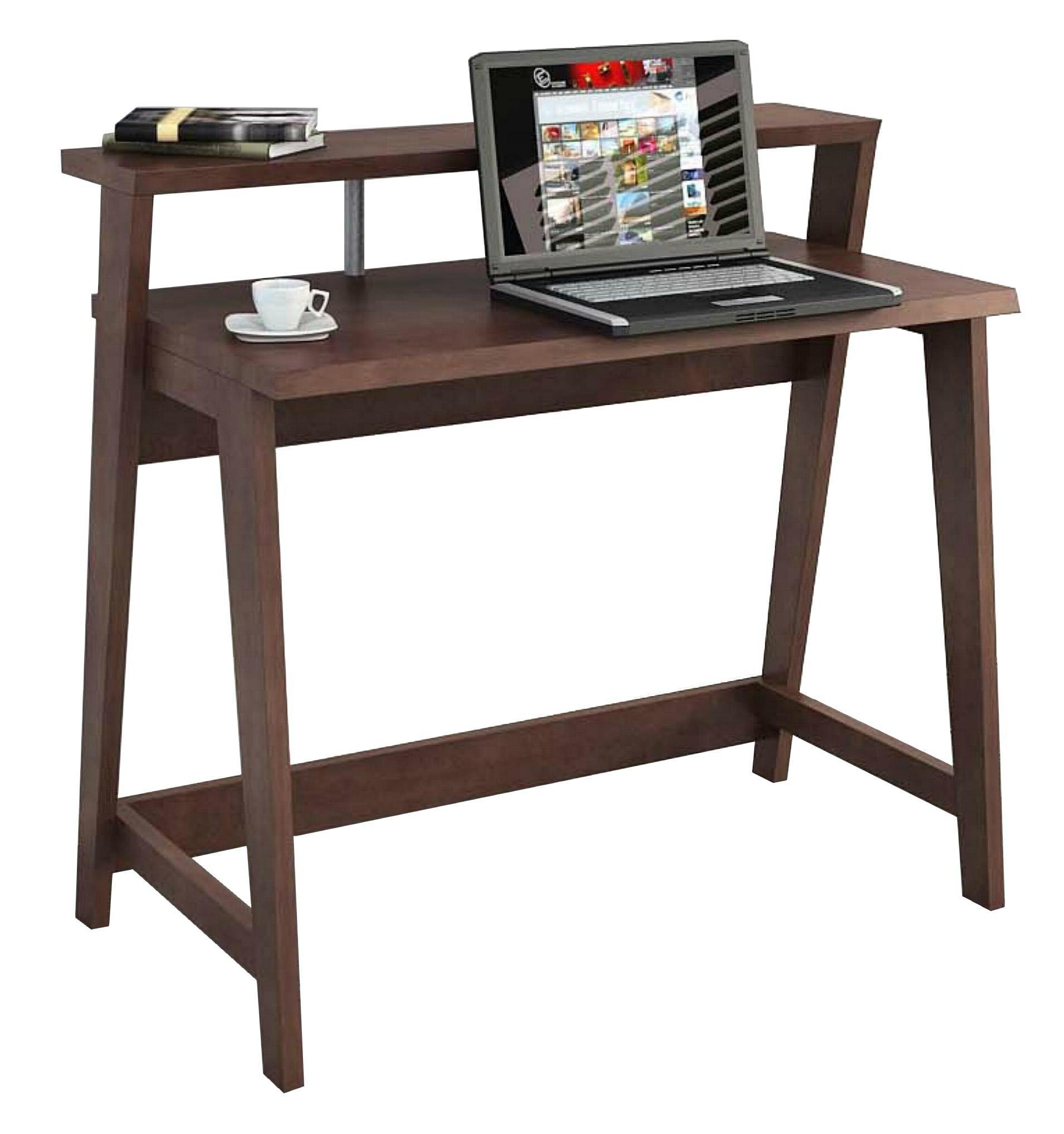 Wooden modern office computer desk laptop table wd