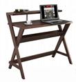 Wooden Walnut Book Holder Modern Laptop Desk
