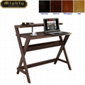 Wooden Walnut Book Holder Modern Laptop Desk